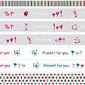 三宅商店KUMA和紙膠帶 Moomin嚕嚕米 特別版聖誕款
