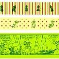 三宅商店KUMA和紙膠帶 Moomin嚕嚕米 第二彈史納夫金