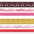 已絕版~~Mark's和紙膠帶 馬戲團音符系列