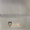 MW Lace Deco蕾絲鏤空裝飾膠帶15mm MW91387花邊銀 $185