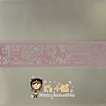 MW Lace Deco鏤空裝飾膠帶30mm MW91500灰姑娘粉 拍賣價$240 相簿價$210 合購價$200