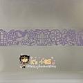 MW Lace Deco蕾絲鏤空裝飾膠帶30mm MW91503鳥籠紫 $235