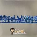 MW Lace Deco蕾絲鏤空裝飾膠帶30mm MW91345房子藍 $235