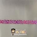 MW Lace Deco蕾絲鏤空裝飾膠帶15mm MW91383玫瑰粉 $185
