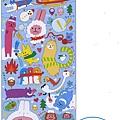 MW貼紙 聖誕系列MW74185YURU雪人 $75