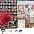 貼紙資料夾多合一組 KJ43831玫瑰 $200