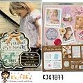 貼紙資料夾多合一組 KJ43833小女孩寫真 $200
