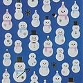 KJ貼紙 聖誕系列 KJ43421銀白雪人 $90