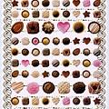 KJ貼紙 繽紛系列第3彈 KJ43968巧克力 $80