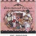 馬戲團兔貼紙包第2彈 SE-09602粉 $115~