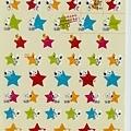 已絕版 完售~史努比手帳半透貼 KJ32041星星2枚組