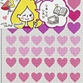 SS貼紙 重點手帳貼系列S8570515愛心 $90