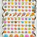 KJ貼紙 繽紛系列第2彈 KJ43881冰淇淋 $80