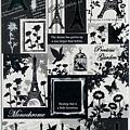 KJ貼紙 黑白剪影系列 KJ43985鐵塔 $80