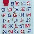 Hallmark半透手帳貼 文字系列ELS-621-889史努比字母藍 $120~