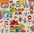 MW貼紙 FunnyFunny童話故事系列  MW73963綜合童話午後  $75