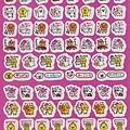 完售~CRUX趣味手帳貼 CX74591粉底