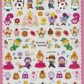 MW貼紙 FunnyFunny童話故事系列  MV72966綜合童話蕾絲  $75