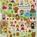 MW貼紙 FunnyFunny童話故事系列  MV72492綜合童話公園 $75