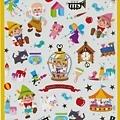 MW貼紙 童話故事系列 MW72204小木偶  $75