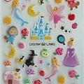 現貨已售完~MW貼紙 童話故事系列  MW70006綜合童話水晶貼