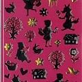 現貨已售完~MW貼紙 童話故事系列  MW71836剪影小紅帽水晶貼