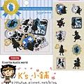 MW最愛貼紙包 MW72570剪影愛麗絲 $75