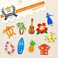 MW夏日貼紙包 MW73756E夏威夷 $75