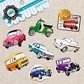 MW最愛貼紙包第七彈 MW73996古董車 $75