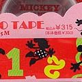 DELFINO DECO紙膠帶 DZ-74533迪士尼數字紅