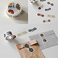 KAMOI和紙膠帶 mt_ex系列 繩扣MTEX1P33