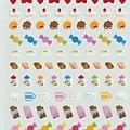 MW貼紙 手帳小貼 MW74088閃亮甜點 $75