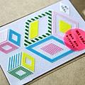 mt seal和紙貼紙 K幾何 (MTSEAL15)