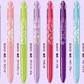 Pentel sliccies三色筆管 數量限定款姬系列 $200/支