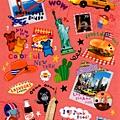 MW貼紙 國家旅遊系列 MW74583美國 $75