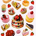 MW貼紙 LaDolceVita寫真照系列 MW10944蛋糕甜點 $75