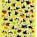 MW手帳小貼 人氣迷你動物系列 MW74451迷你熊貓 $75