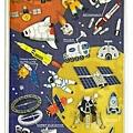 MW貼紙 水晶貼圖鑑系列 MW74470宇宙二 $125