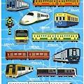 MW貼紙 水晶貼圖鑑系列 MW74472鐵軌車 $125
