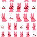 MW貼紙 JOY系列 MW72887joy粉白兔 $75