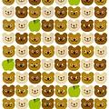 RYU貼紙 Circle系列 RCS-32茶熊 $75