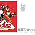 史努比TOWM限定 管弦樂團MUSIC系列 明信片 $85