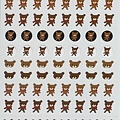 LACONIC手帳貼紙 L02808熊 $75