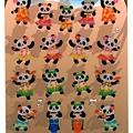 geena水晶貼 夏季系列 V12-071613呼啦熊貓 $120