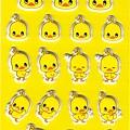 日本人氣小雞泡麵貼紙 PSC-01黃 $150