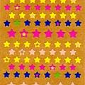 現貨已售完~Oriental手帳貼 S-1547星星 $85