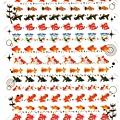 KJ貼紙 繽紛系列第6彈 KJ44320金魚 $80