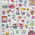 sanrio夏季手帳貼紙 SA047376和風kitty $105
