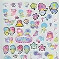 sanrio夏季手帳貼紙 SA047490和風KIKILALA $105