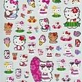 sanrio夏季手帳貼紙 SA047597海邊kitty $105